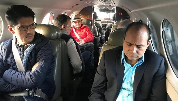 Senadores viajaron al Caquetá para indagar paradero de Iván Márquez