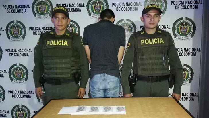 Hombre fue capturado con drogas sintéticas en el norte de Armenia