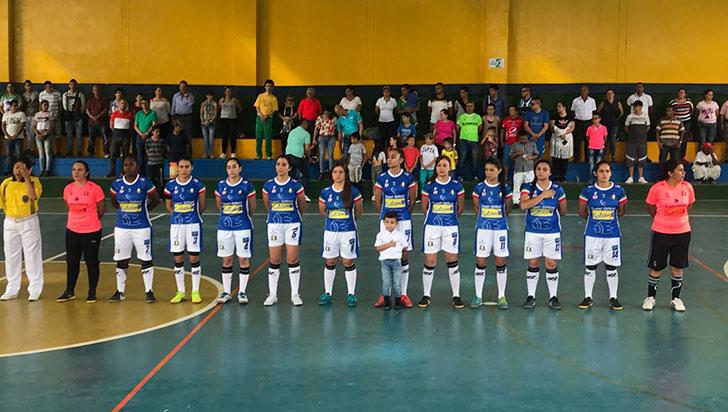 Paisas, el rival de Caciques en cuartos de la Copa Femenina de Futsalón