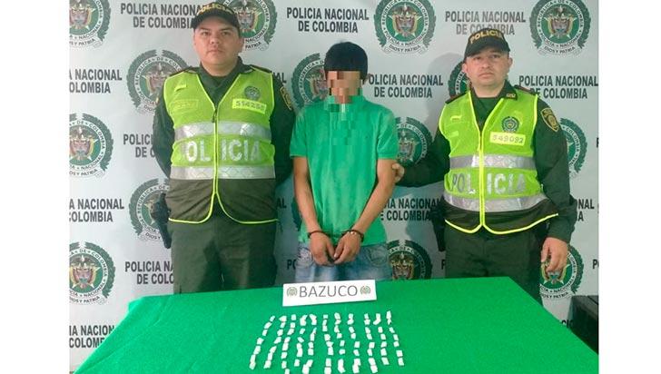 En el barrio Santander cayó expendedor de alucinógenos de Armenia