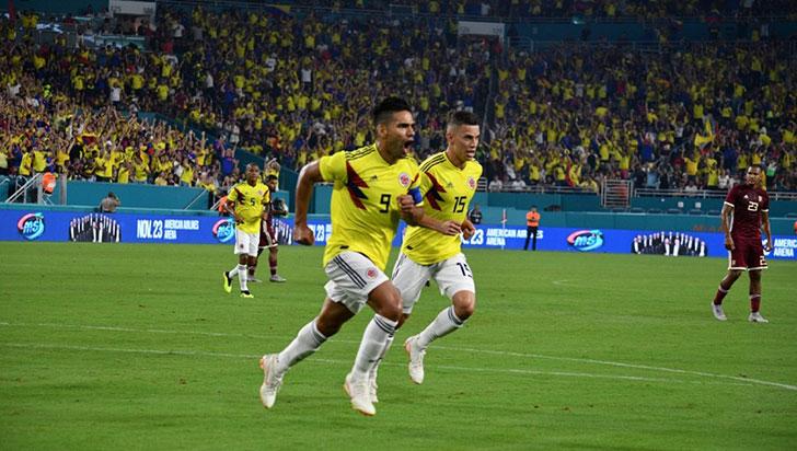 Por calendario Fifa, Colombia se medirá ante Argentina
