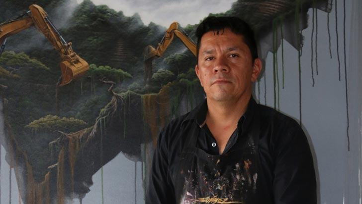 Ecocidio, una obra que va del verde al oscuro panorama de la megaminería