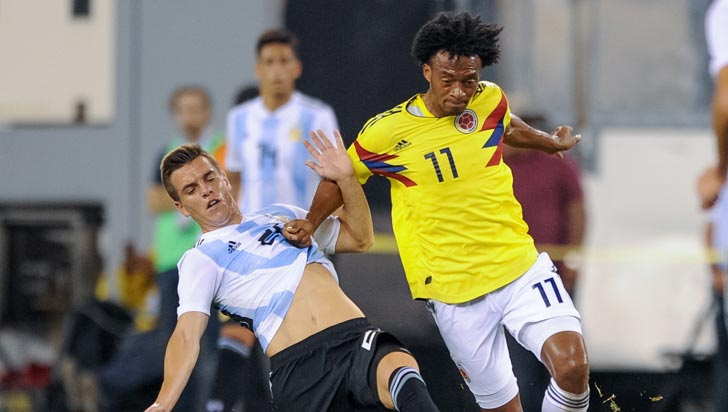 Colombia y Argentina no se hicieron daño: empataron 0-0 en Nueva Jersey