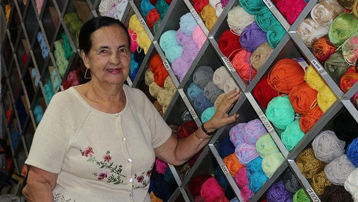 Entre hilos y lanas, Martha Arango tejió su historia de vida en Armenia