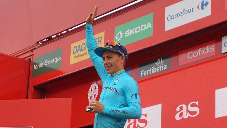 'Superman' López es cuarto de la Vuelta; Nairo perdió posiciones