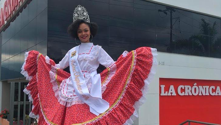 Una estudiante de derecho, la nueva reina Chapolera: Tatiana Carreño