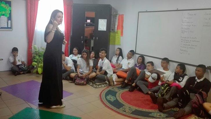 Prevención de embarazo adolescente en Quimbaya