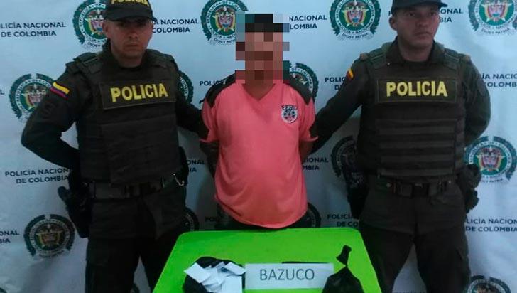 Detienen a presunto expendedor de alucinógenos en La Tebaida