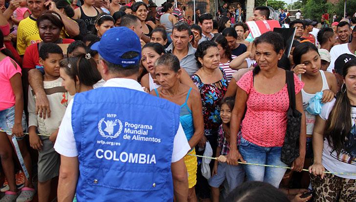 ONU: 80% de los refugiados venezolanos en Colombia sufren inseguridad alimentaria