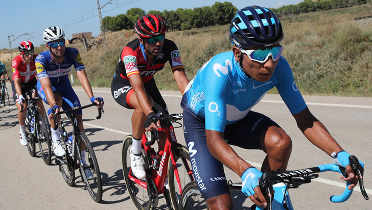"""Este sábado será un día interesante, se decidirá todo en La Vuelta"": Nairo Quintana"