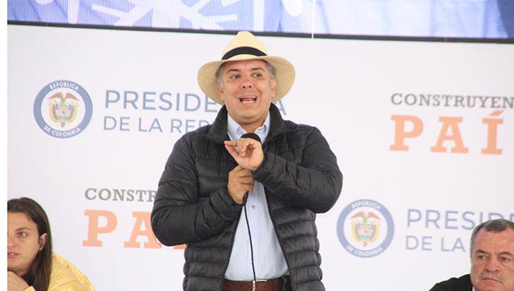 Presidente Duque desde la 'Colina' iluminó proyectos en pro del desarrollo del Quindío