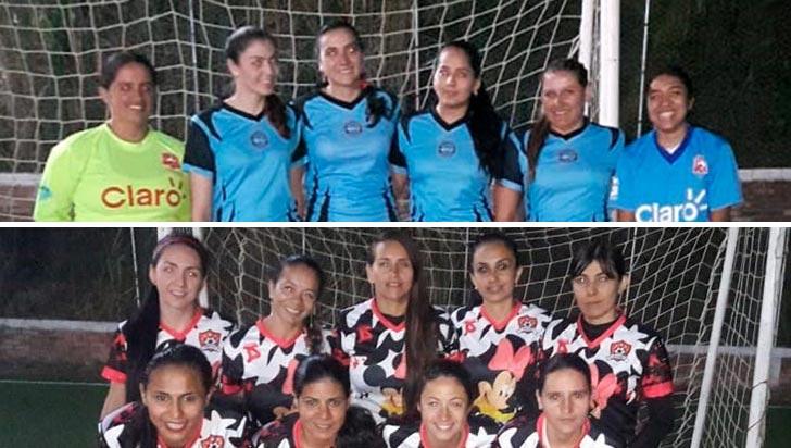 Fútbol 5 femenino define campeón en Calarcá