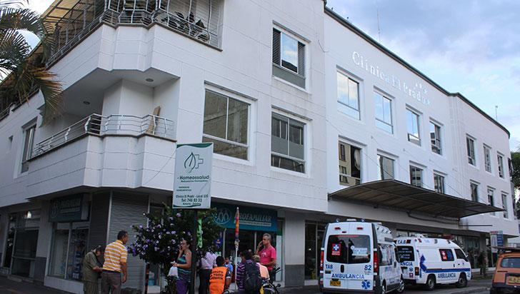 1.239 consultas atendió la clínica El Prado en 2017, procedentes de Calarcá