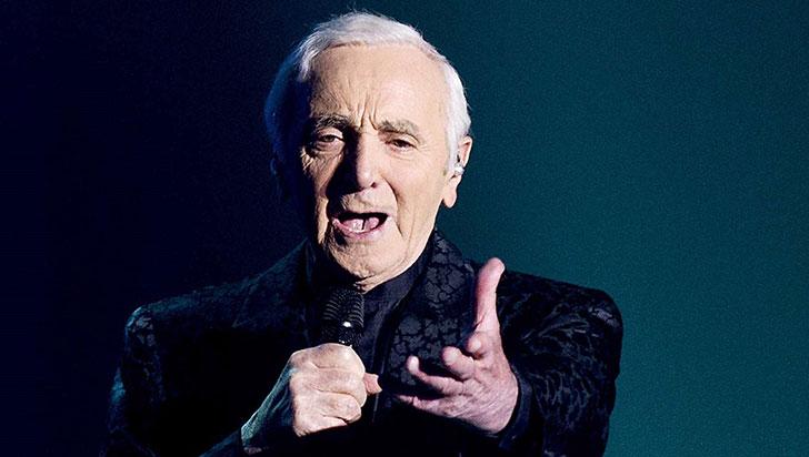 Falleció el cantante francés Charles Aznavour a los 94 años