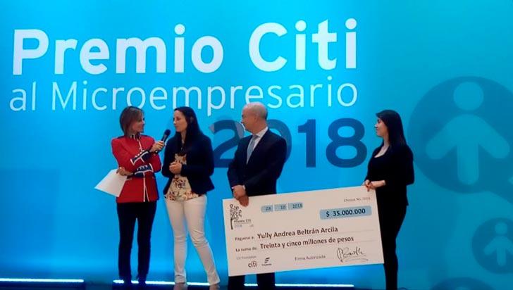 Una pareja de quindianos, elegidos como microempresarios del año en premios Citi