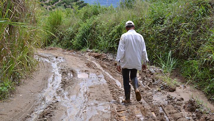 """""""Compromisos para titulación de tierras no se han cumplido"""", secretario de Agricultura"""