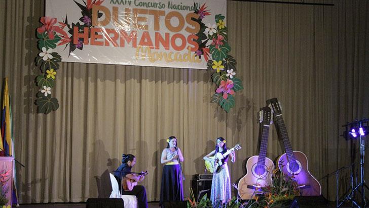El concurso de duetos Hermanos Moncada este año tendrá la modalidad infantil