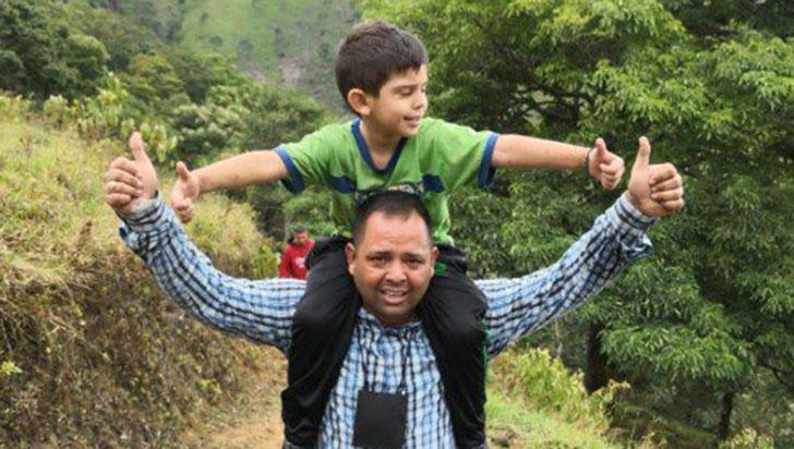 Terminó la pesadilla: El pequeño Cristo José Contreras por fin volvió a casa