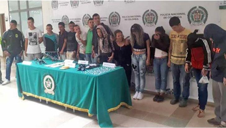 En 2018, 42 capturados e incautaciones por más de 61 millones de pesos en Calarcá