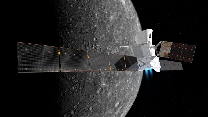 Todo listo para el despegue de la tercera y más puntera misión a Mercurio