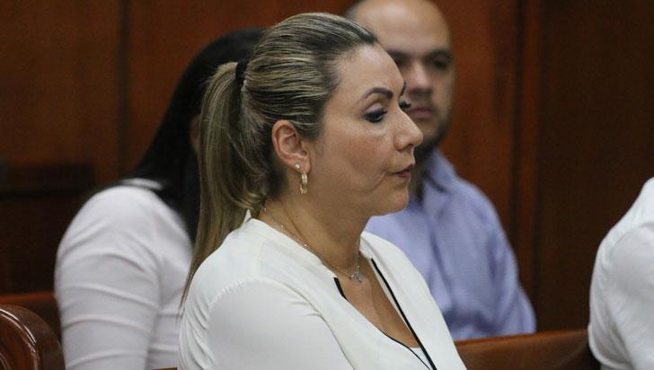 Audiencia de juicio en contra de Luz Piedad Valencia será la próxima semana