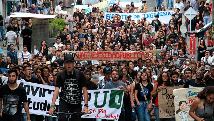 En defensa de la universidad pública, estudiantes marcharán este miércoles en Armenia