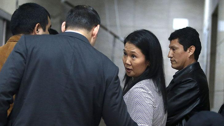 Keiko Fujimori, detenida por lavado de activos, peligro de fuga y obstruir investigación