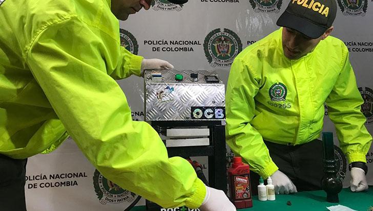 Incautan máquina para extraer rosín, sustancia con alta concentración de cannabis