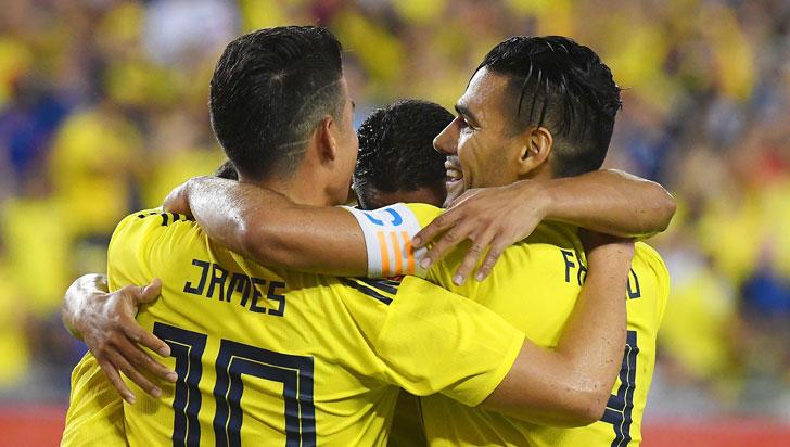 Colombia derrotó 4-2 a Estados Unidos en un juego lleno de goles y emociones
