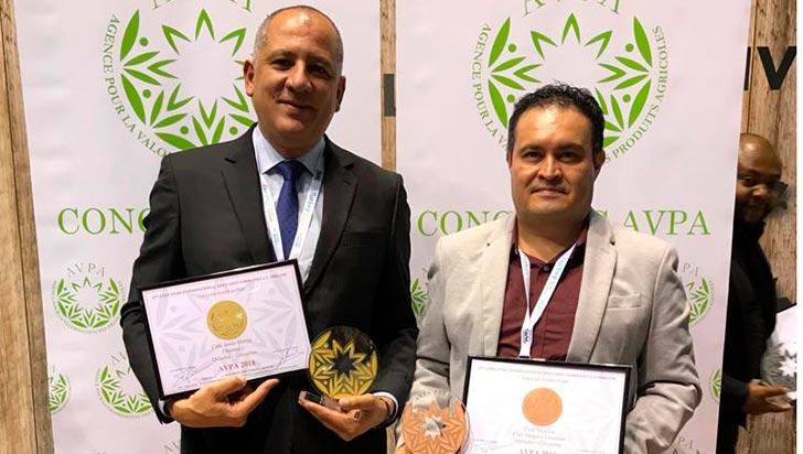 Quindío se llevó siete medallas en los premios Avpa de café tostado de origen
