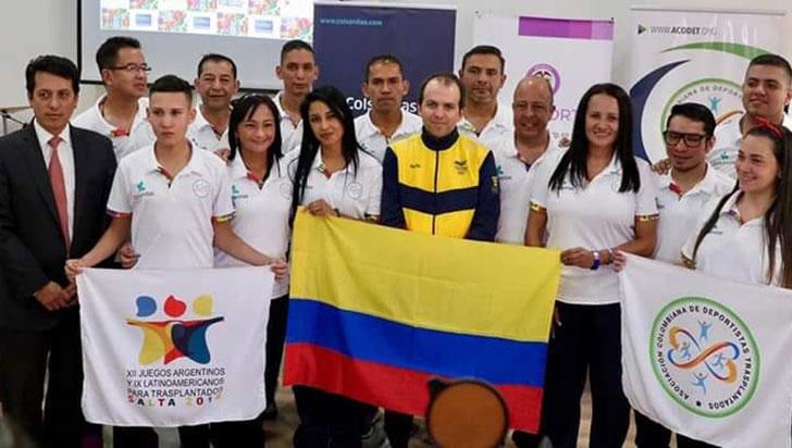 Quindiano William Barragán sumó dos platas en justas de deportistas trasplantados
