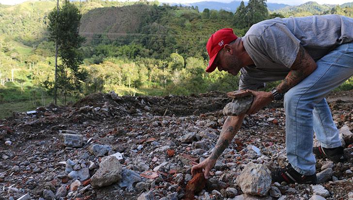 Denuncian daño ambiental en humedal de Salento