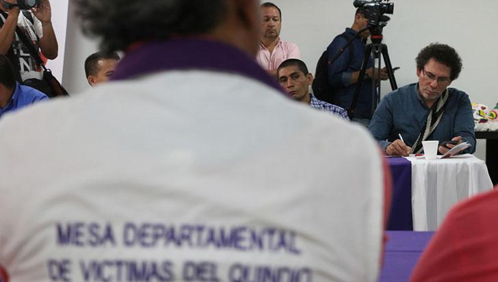 Víctimas del conflicto denuncian incumplimiento por parte de alcaldía
