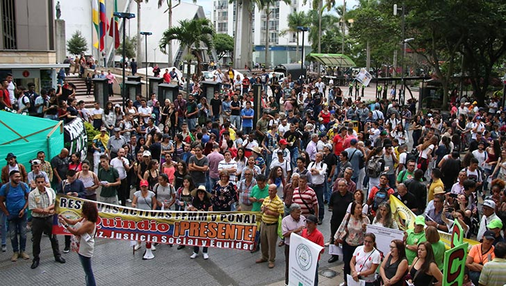 Estudiantes volvieron a marchar en defensa de la educación pública