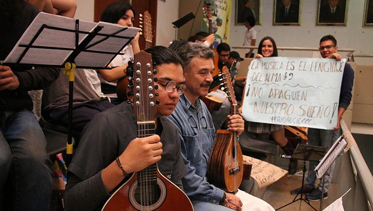 Escuela de música agoniza con pobre presupuesto destinado por la alcaldía