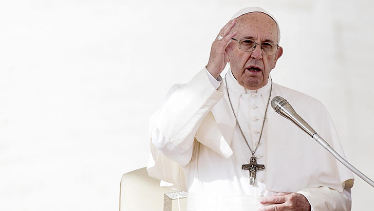 "El papa llama al mundo a ""invertir en paz"" al recordar el fin de Primera Guerra Mundial"