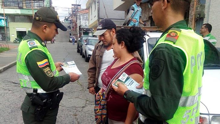 Policía busca reducir el delito de hurto por medio de campañas