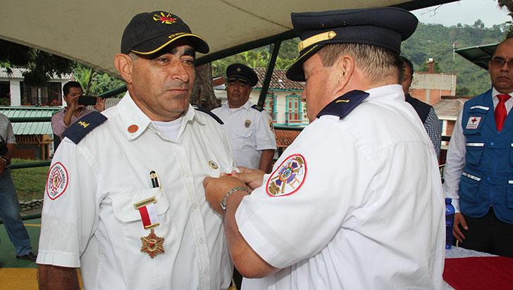 Subteniente Serafín Burgos Giraldo, comandante distinguido del Quindío
