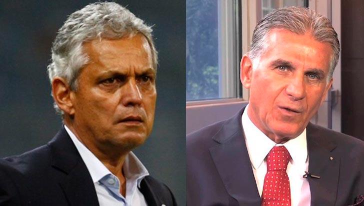 Entre Reinaldo Rueda y Carlos Queiroz está el técnico de Colombia