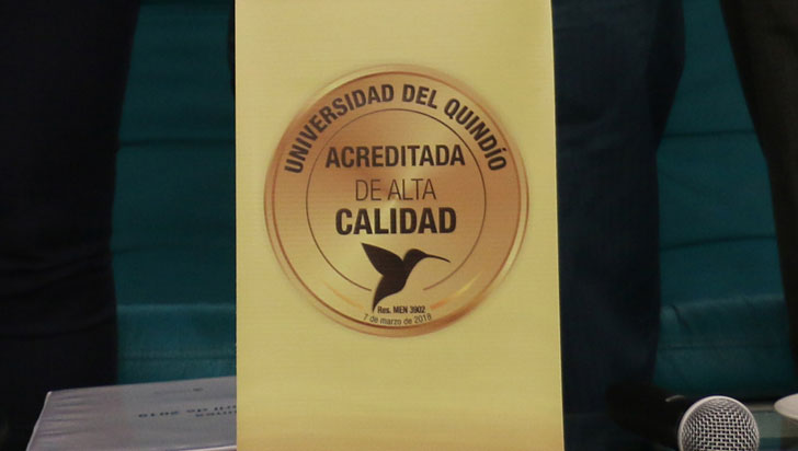 Acreditación de Uniquindío mejoró la competitividad del departamento, aseguró experto