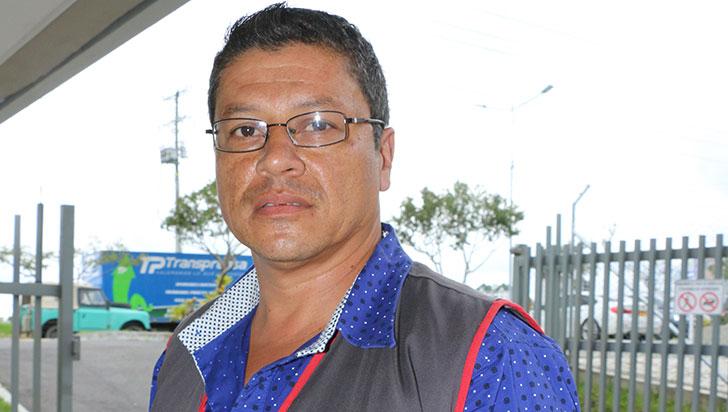 Pablo Corrales realiza acompañamiento a personas con VIH