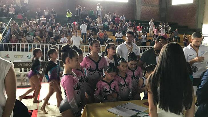 Como Liga, Quindío ganó siete títulos en gimnasia nacional