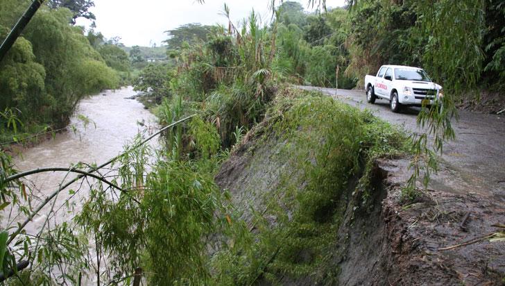 Seis veredas de Calarcá, afectadas por mal estado de vías