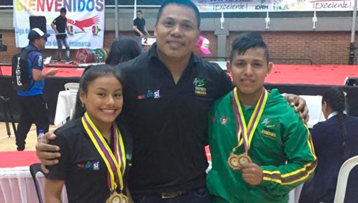 11 medallas ha sumado Quindío en el nacional sub-23 de pesas