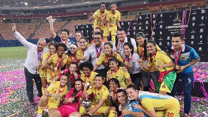 Atlético Huila hizo historia y se coronó campeón de la Copa Libertadores femenina