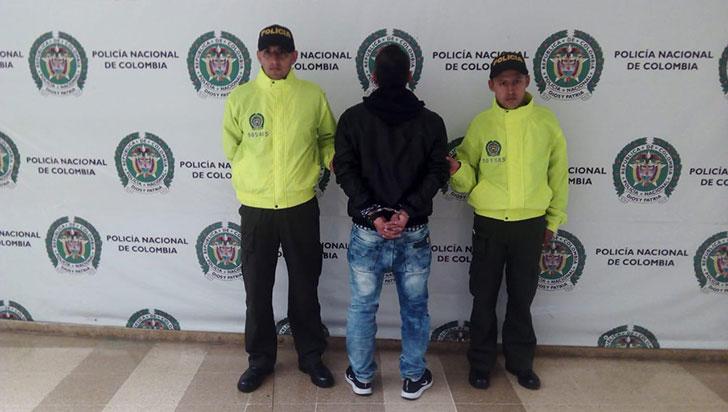 """Hombre fue capturado en Armenia por """"maltratar a su mujer"""""""