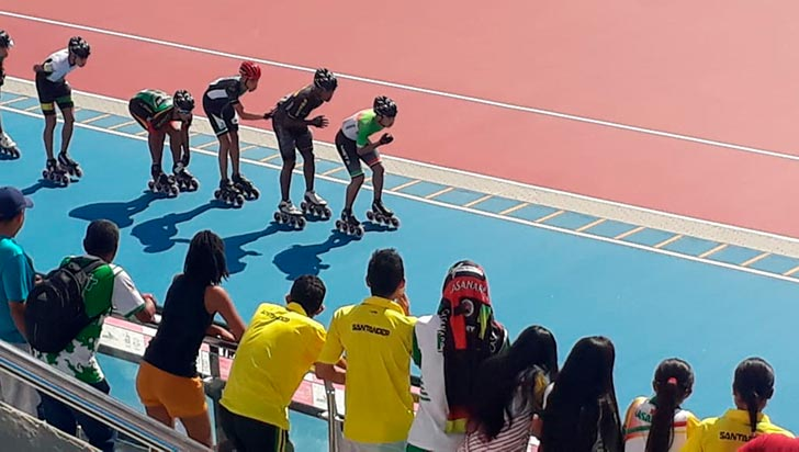 En patinaje, Quindío sumó bronce por finales Supérate