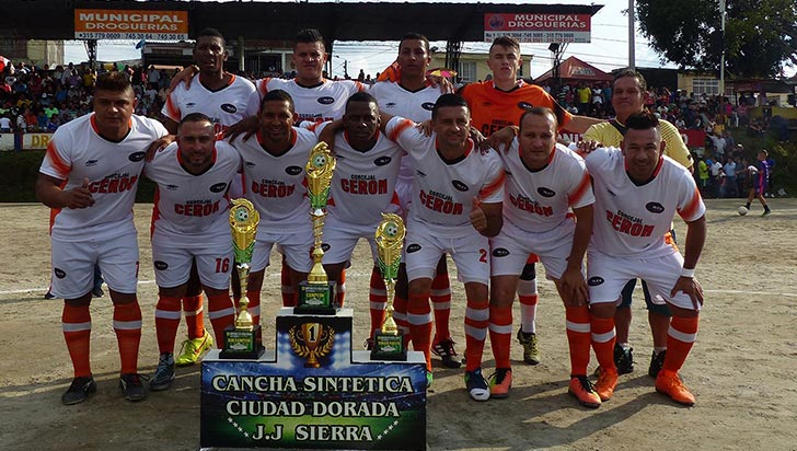 Galex se quedó con el título de veteranos en Ciudad Dorada