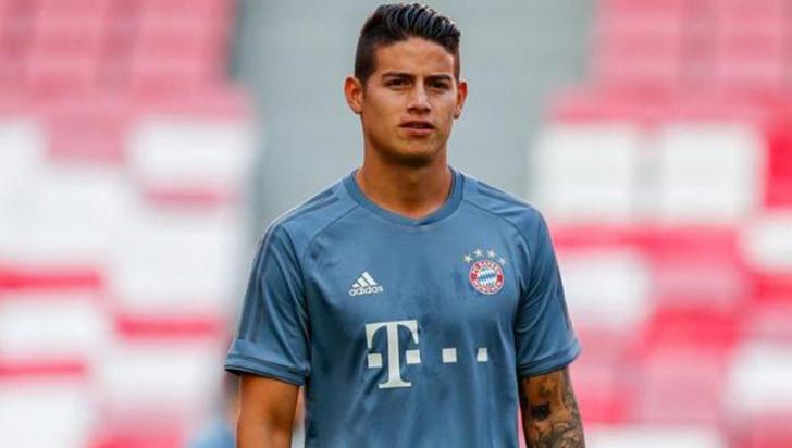 James habló de su futuro en el Bayern