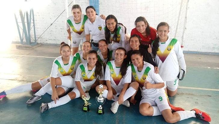 Tigres femenino ganó el título del hexagonal en Obando